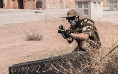 Silleda prepara la partida nacional del juego de estrategia militar de Airsoft
